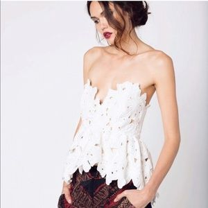 XS/S Stone cold fox Texas floral  tube top